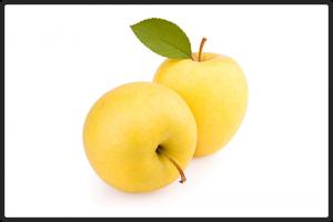 Яблоки жёлтые.  Упаковка: картонная коробка или пластмассовый ящик, 6-8 кг.