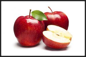Яблоки красные.  Упаковка: картонная коробка или пластмассовый ящик, 6-8 кг.